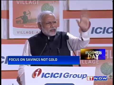 PM Modi Speech on Gold & Cashless Transaction