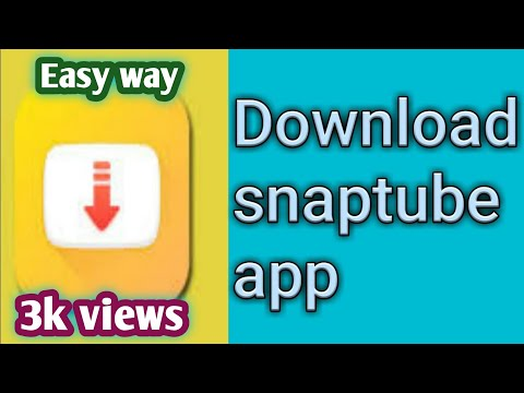 How to download snaptube app || how to use snaptube app || snaptube app customizing