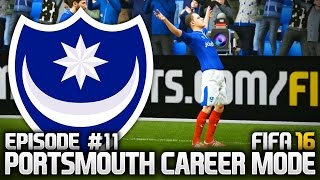 FIFA 16: PORTSMOUTH CAREER MODE #11 - WHAT A DEBUT!!!