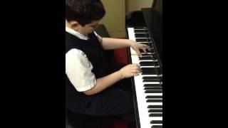 Benjamin plays Blues ala Mode