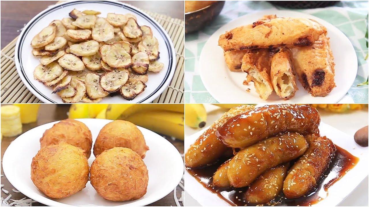 GÂY NGHIỆN với 10 món ăn chế biến từ TRÁI CHUỐI quen thuộc   Feedy TV