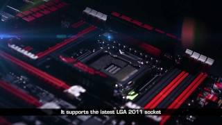 ASUS Rampage IV Extreme (X79 LGA2011) product video - official demo (1080p)