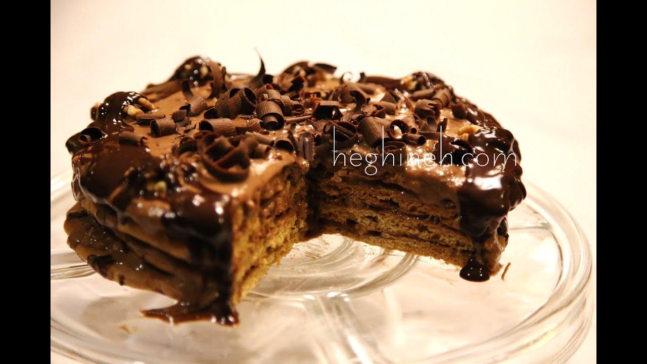 Chocolate cream cake recipe in cooker