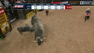 Nathan Burtenshaw bucks off VJV Whiskey Hand (PBR)