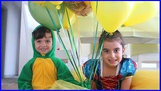 Doğum Gününe Hazırız Rüya Pamuk Prenses, Yankı Dinozor Oldu l Çocuk Videosu l Prens Yankı