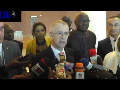 Découvrez   l'Aéroport International Blaise Diagne à travers cette visite guidée des journalistes de