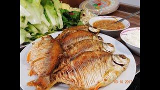 Mẹo làm Cá He để ăn không bị Hóc xương, pha nước Mắm Chanh Tỏi Ớt by Vanh Khuyen