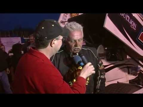 Susquehanna Speedway Park 410 Sprint Car Victory Lane 4-14-13