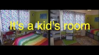 Get Organized Already: It's a Kid's Room
