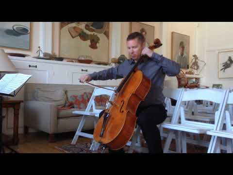 Erik Anderson, Bach, Carruthers cello