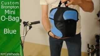 Brompton Bicycle - Mini O Bag - Blue or White