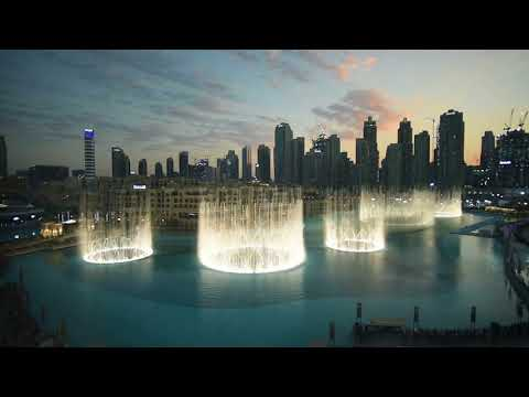 The Dubai Fountain – EXO #POWER Official Choreography