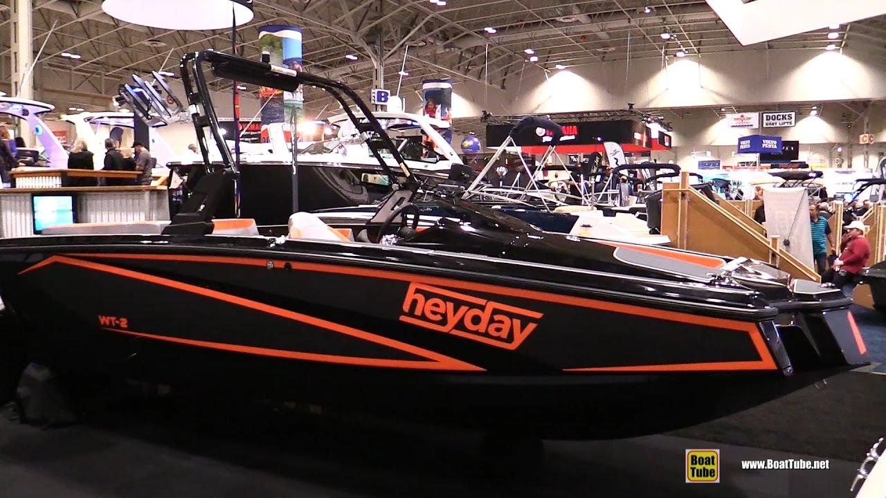 2017 Heyday WT-2 Motor Boat - Walkaround - 2017 Toronto Boat Show