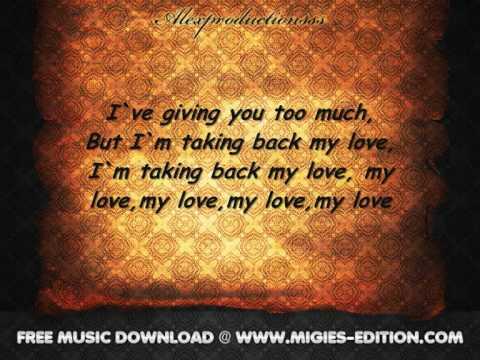 Enrique Iglesias ft. Ciara - Takin' Back My Love(Lyrics) [Migies-Edition.Com]