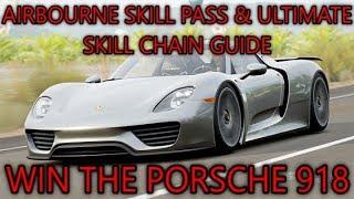 Forza Horizon 3 - FORZATHON - Win the Porsche 918 Spyder - Airborne Pass Skill Guide