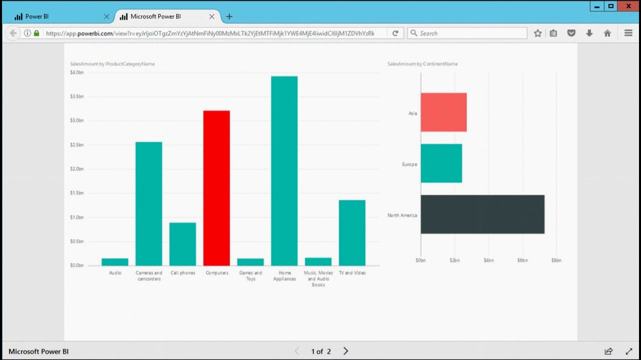 Embedding Power BI Reports in Web Pages