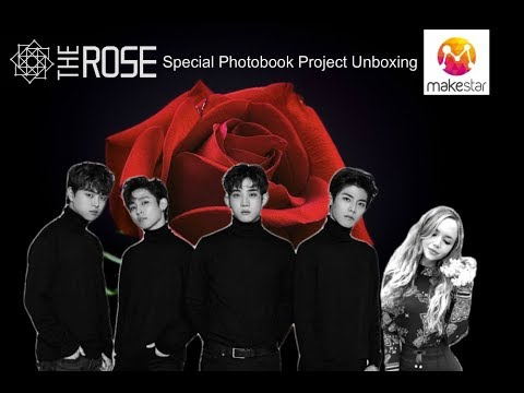 The Rose Special Photobook Project Unboxing | Makestar Exclusive