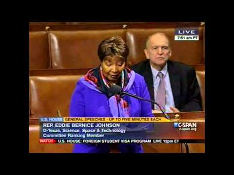 Ranking Member Eddie Bernice Johnson on the Importance of Investing in R&D and STEM