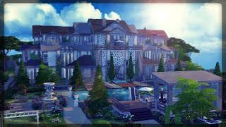 The Sims 4: House building - The Edward Mansion (Blockbuster)(This video could just be possible with your support on Patreon... this video/house took me longer than any house video i have ever done.. Support here: ..., 2016-01-10T15:23:33.000Z)