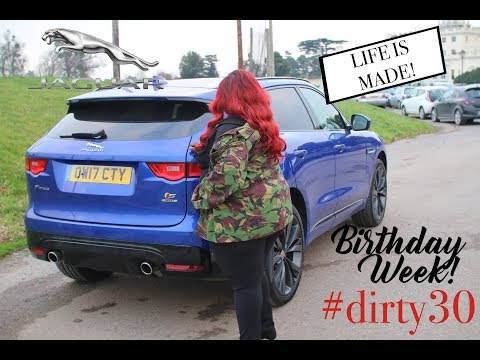 I HAVE A JAGUAR FOR MY 30TH BIRTHDAY! A WEEK OF CELEBRATIONS! ISSA VLOG!