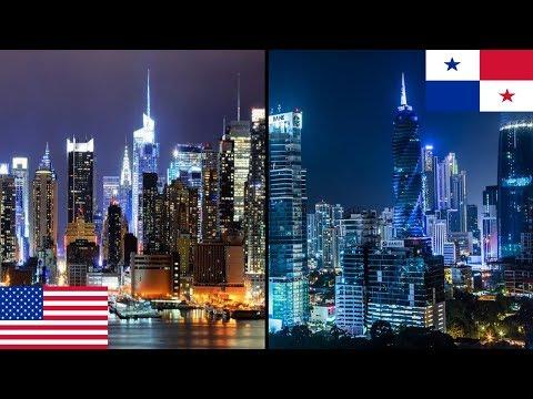 Nueva York vs Ciudad de Panamá