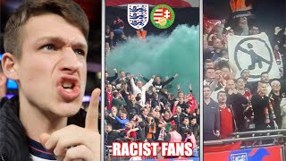 Racist Hungary Fans FIGHT Police at Wembley vs England...