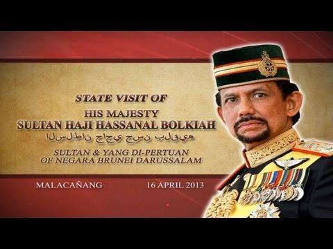 State Visit of H.M. Sultan Haji Hassanal Bolkiah of Negara Brunei Darussalam