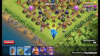ALL ELECTRO DRAGON VS TOWN HALL 11.CLASH OF CLAN.CLASH WITH US.