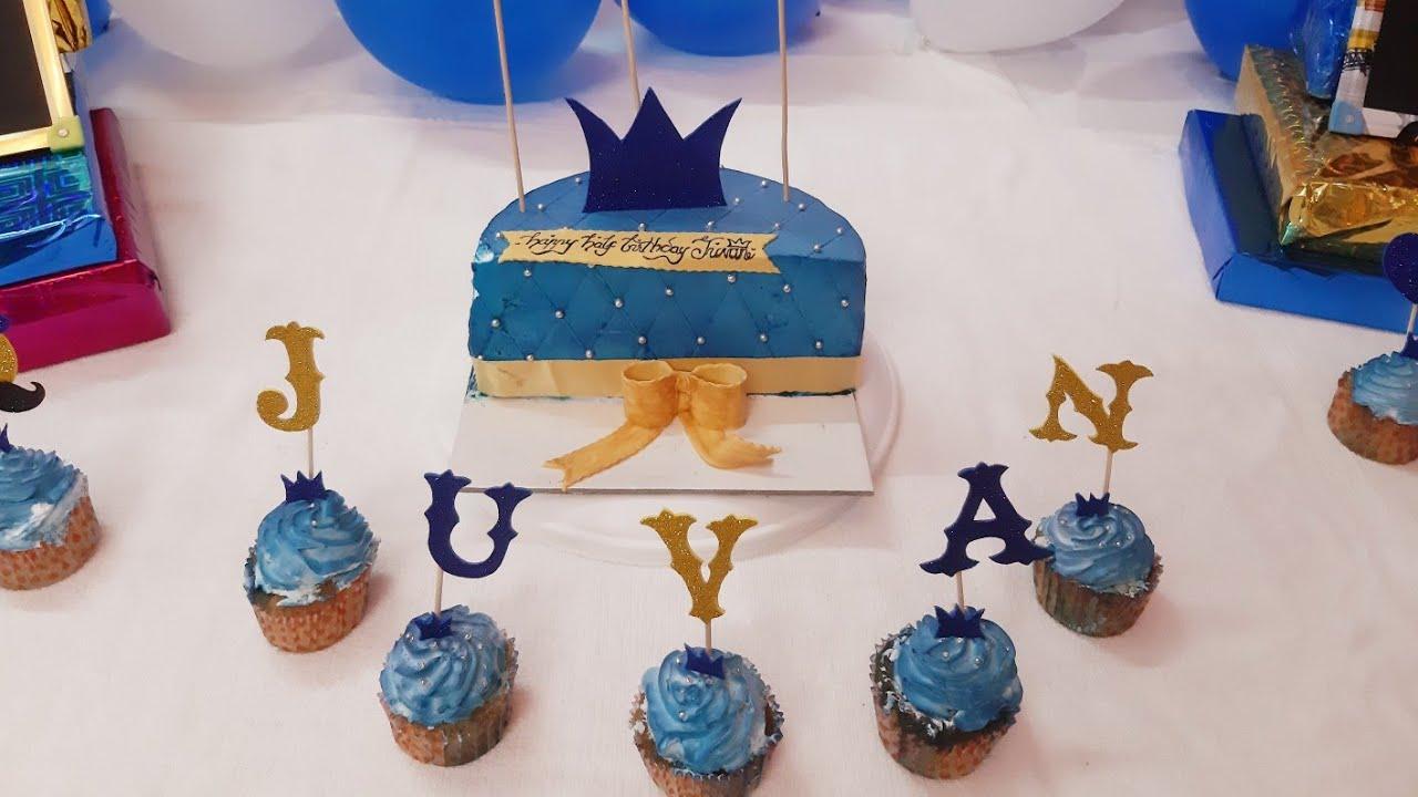 Half Birthday Decoration Baby Photoshoot Decoration 6 Months Celebration Party Decor Buddy S Art Youtube