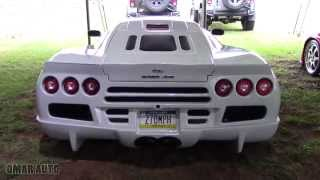 LOUD NOISE OF 1287HP - SSC ULTIMATE AERO at 2015 Dream Ride XP