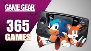 The Game Gear ProĴect - All 365 GG Games - Every Game (US/EU/JP/BR)
