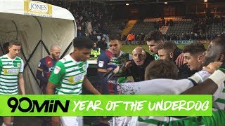 How Yeovil town booked Man United in FA Cup round 4   90min Year of the Underdog   Round 3
