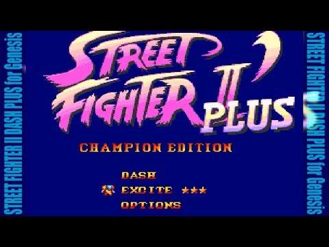 [FHD] STREET FIGHTER II DASH PLUS for MegaDrive/Genesis [CAPCOM]