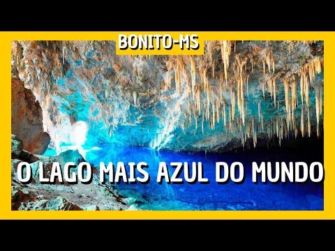 O QUE FAZER EM BONITO: O LAGO MAIS AZUL DO MUNDO (ops, de Bonito MS ) *Eldo Gomes*
