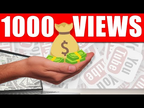 How Much YouTube Pays You For 1,000 Views In 2020