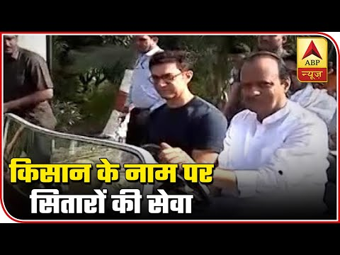Maharashtra: Farmers In Distress But Dy CM Ajit Pawar Rides Car With Aamir Khan | ABP News