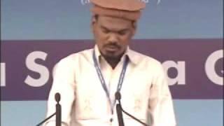 Ahmadiyya : Quran Thilavath and Hindi Meanings at Jalsa Qadian 2009 Day 2 Afternoon
