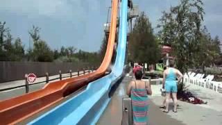 6 story water slide