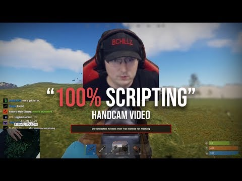 Rust - Bchillz Exposing Me For Recoil Scripting! (Getting Banned Again)