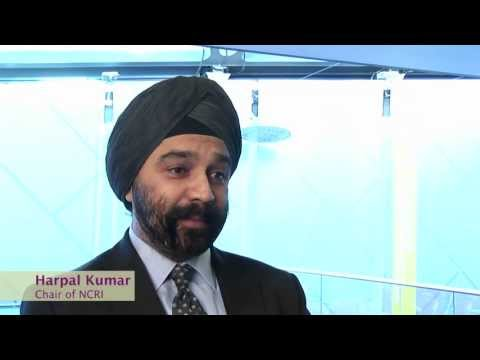 Dr Harpal Kumar talks about the work of the NCRI partnership