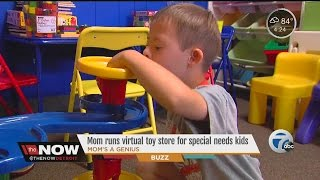 Mom runs virtual toy store for special needs kids