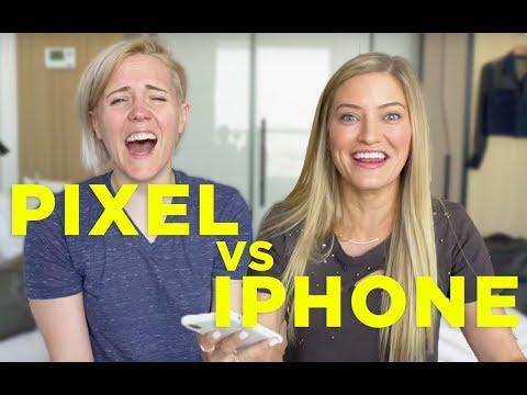 PIXEL vs. iPHONE ft. iJustine!