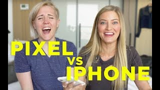 PIXEL vs. iPHONE ft. iJustine!