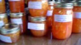 Making Peach Preserves