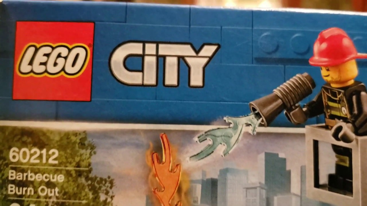 LEGO City Barbecue Burn Out 60212 Building Kit 64 Piece