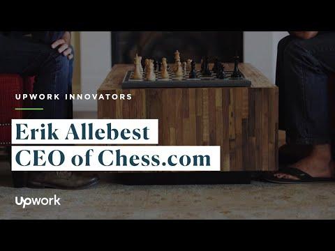 Upwork Innovators: Erik Allebest | CEO of Chess.com