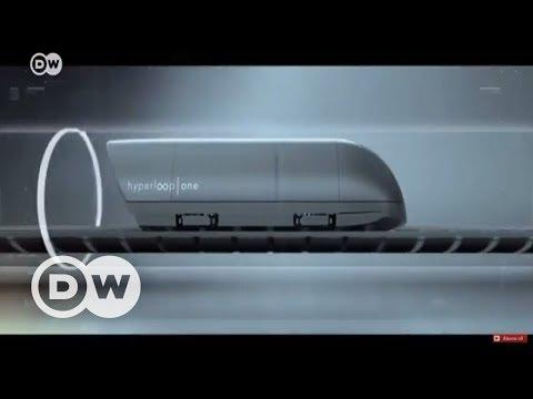 Hyperloop tren hız rekoru kırdı - DW Türkçe