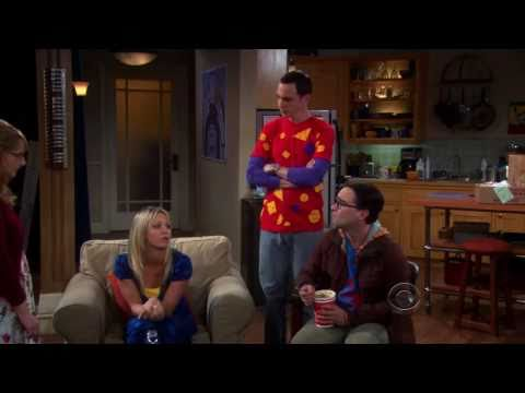 The Big Bang Theory - Bernadette sits in Sheldon`s spot