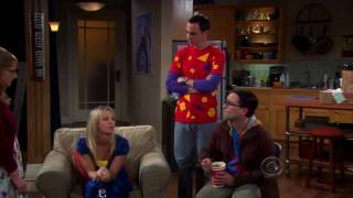 The Big Bang Theory - Bernadette sits in Sheldon`s spot