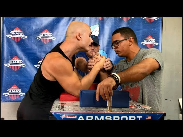 Deny Montana's Debut in Armwrestling